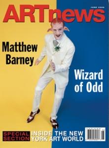 ARTnews Magazine Cover