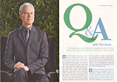 Positive Thinking Magazine | Q & A with Tim Gunn